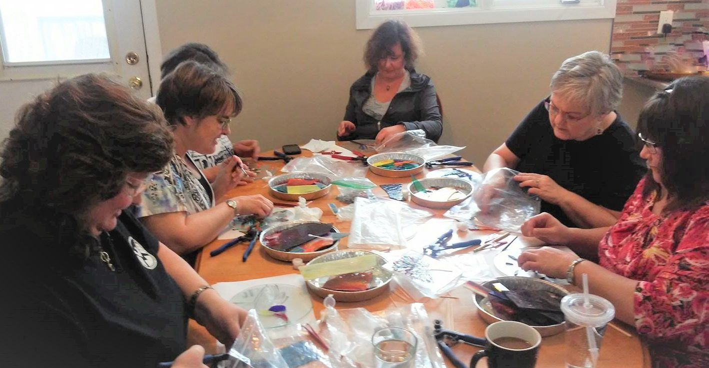 welcome mobile stained glass mosaic workshops